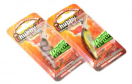 Jackall - Воблер Chubby Minnow 35 brown suji shrimp - фотография упаковки