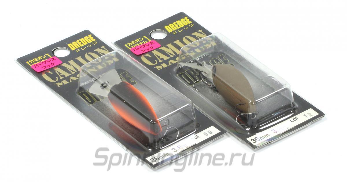 Воблер Smith Camion Magnum Dredge 01 - Данное фото демонстрирует вид упаковки, а не товара. Товар на фото может отличаться по цвету, комплектации и т.д. Дизайн упаковки может быть изменен производителем 1