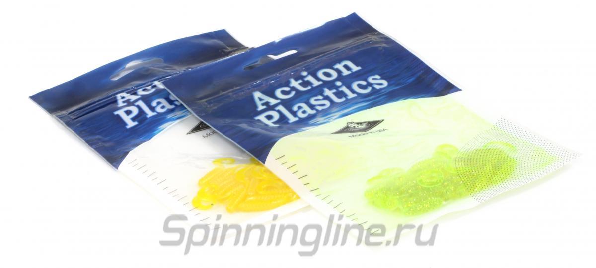 Приманка Action Plastics 3FG-2-295 - Данное фото демонстрирует вид упаковки, а не товара. Товар на фото может отличаться по цвету, комплектации и т.д. Дизайн упаковки может быть изменен производителем 1
