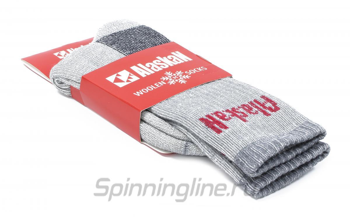 Носки Alaskan серые L - фотография упаковки 1