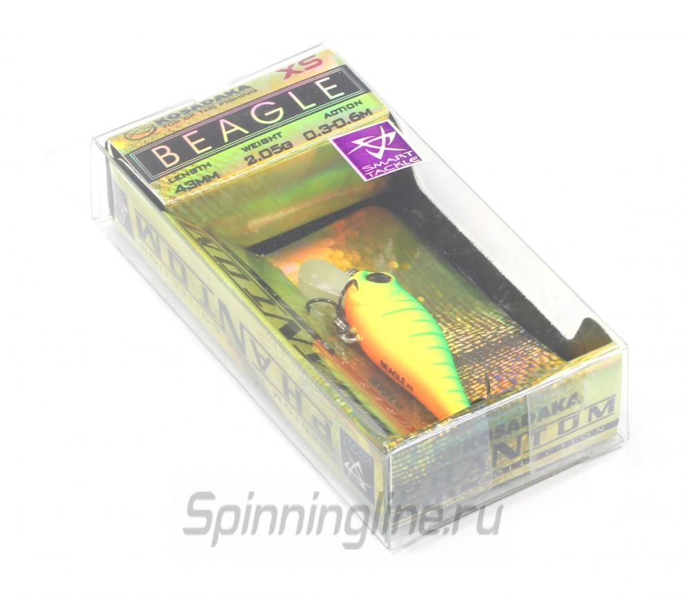 Воблер Kosadaka Beagle XS NT - Данное фото демонстрирует вид упаковки, а не товара. Товар на фото может отличаться по цвету, комплектации и т.д. Дизайн упаковки может быть изменен производителем 1