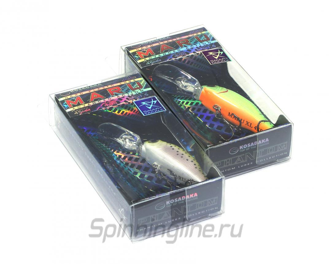 Воблер Maru XL SBL - фотография упаковки 1