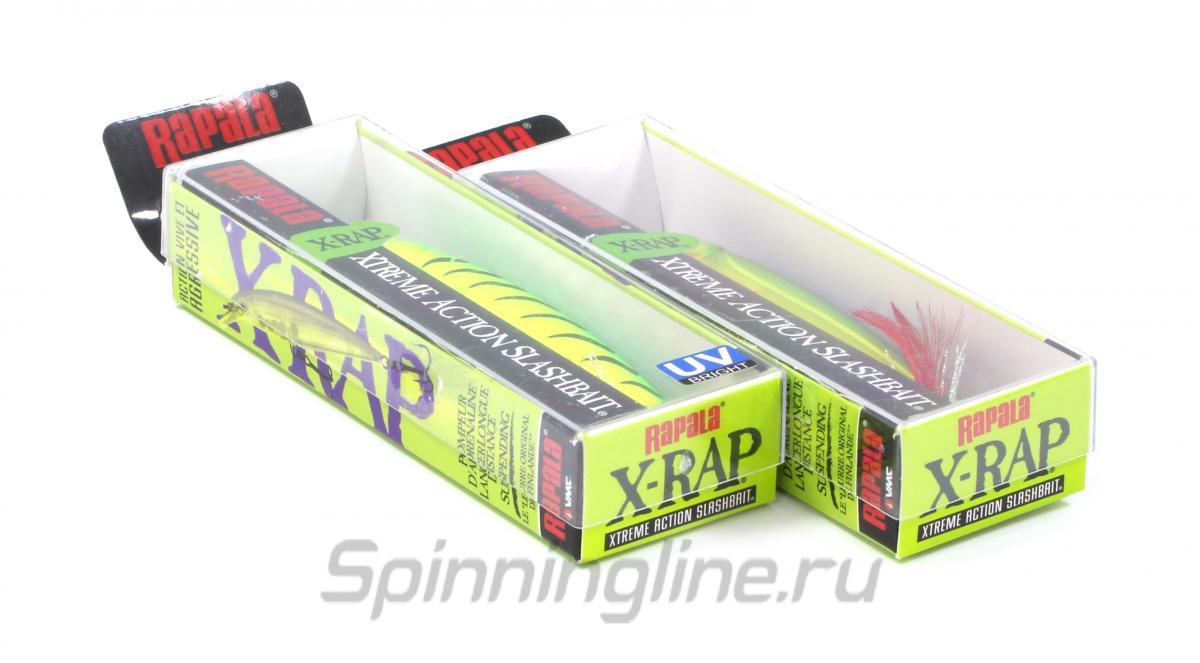 Воблер X-Rap 08 YP - фотография упаковки 1