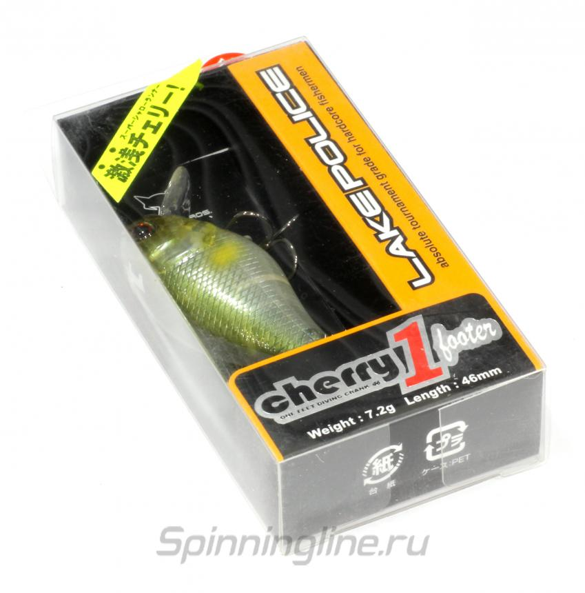 Jackall - Воблер Cherry One Footer 46 matt chartreuse - фотография упаковки