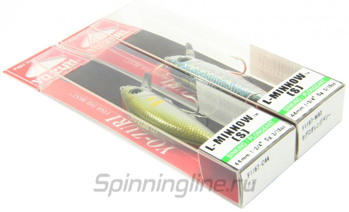 Воблер Yo-Zuri/Duel L Minnow 44S C44 - Данное фото демонстрирует вид упаковки, а не товара. Товар на фото может отличаться по цвету, комплектации и т.д. Дизайн упаковки может быть изменен производителем 1
