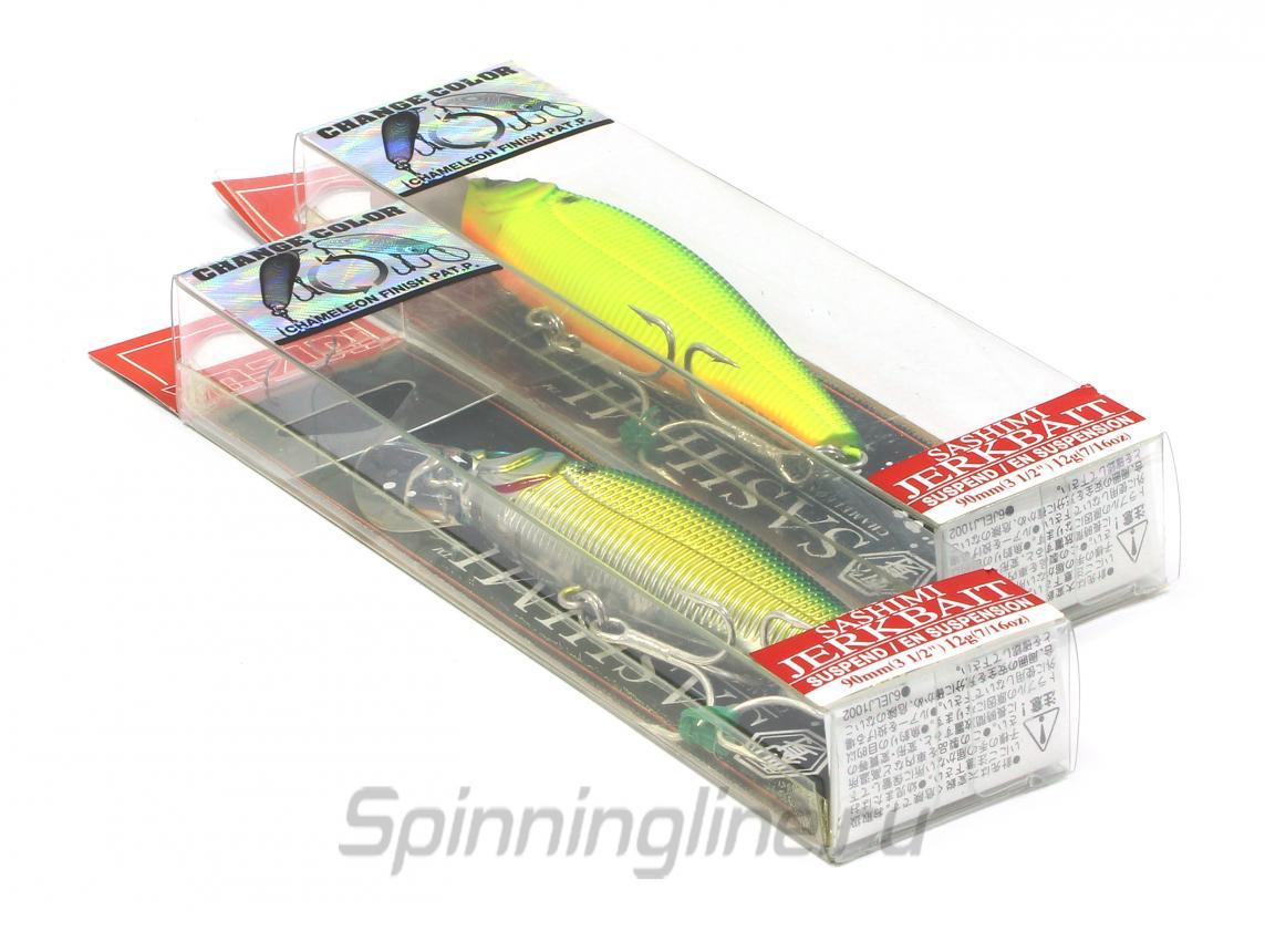Воблер Sashimi R965 CSBG - фотография упаковки 1