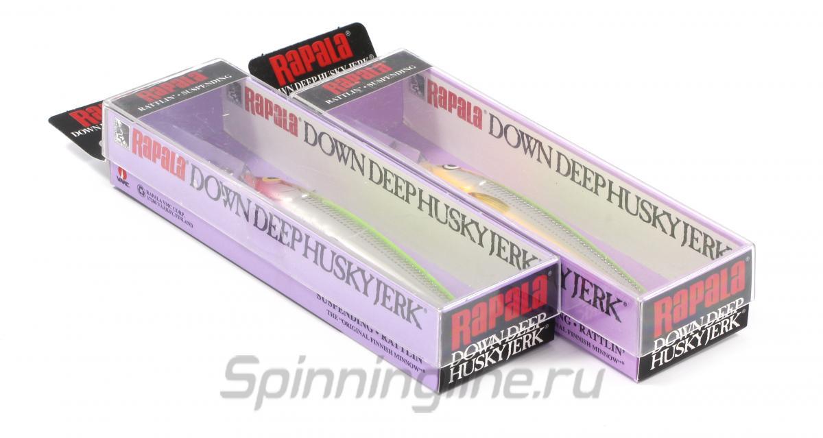 Воблер Down Deep Husky Jerk 12 GMN - фотография упаковки 1