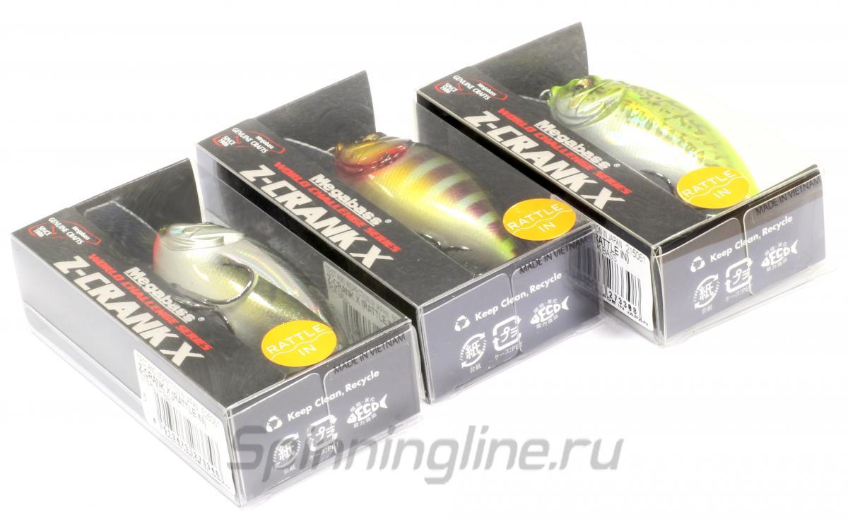 Воблер  Z-Crank X Rattle pm ayu - фотография упаковки 1