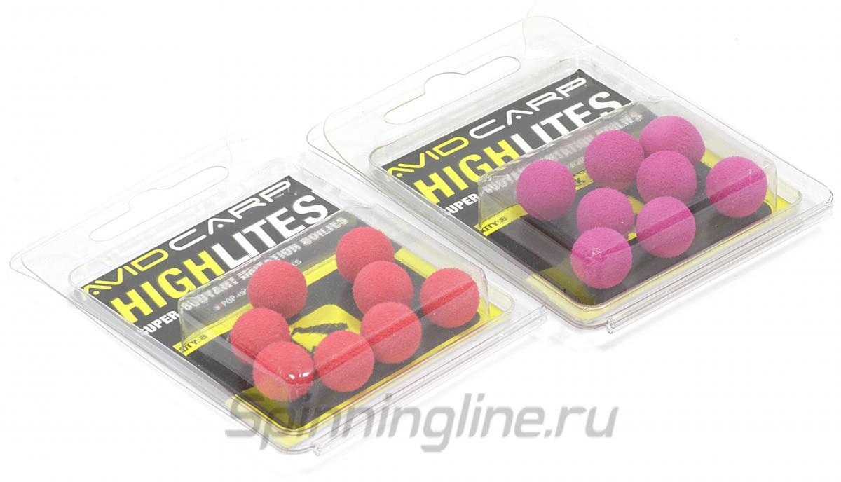 Шарик плавающий High Lites 10мм pink - фотография упаковки 1