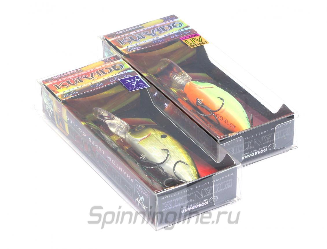 Воблер Kosadaka Kurado SH 60F ROS - фотография упаковки (дизайн упаковки может быть изменен производителем) 1