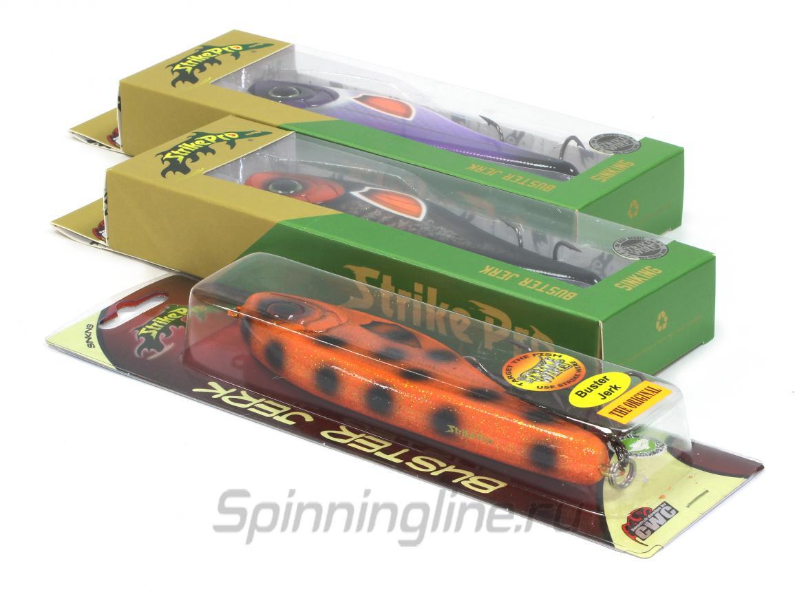 Воблер Buster Jerk EG-048 C460-713 - фотография упаковки (дизайн упаковки может быть изменен производителем) 1