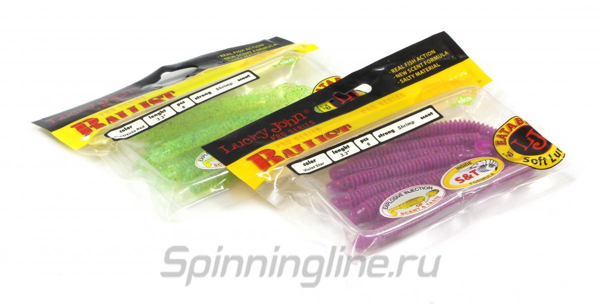 Приманка Lucky John Ballist 50/S19 - Данное фото демонстрирует вид упаковки, а не товара. Товар на фото может отличаться по цвету, комплектации и т.д. Дизайн упаковки может быть изменен производителем 1