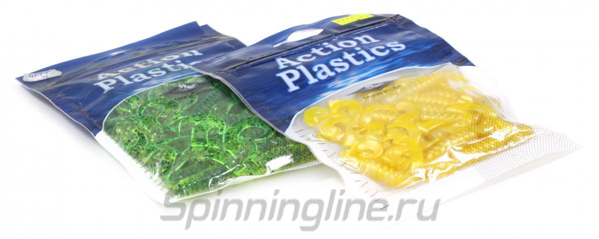 Приманка Action Plastics 4FTT 035 - Данное фото демонстрирует вид упаковки, а не товара. Товар на фото может отличаться по цвету, комплектации и т.д. Дизайн упаковки может быть изменен производителем 1