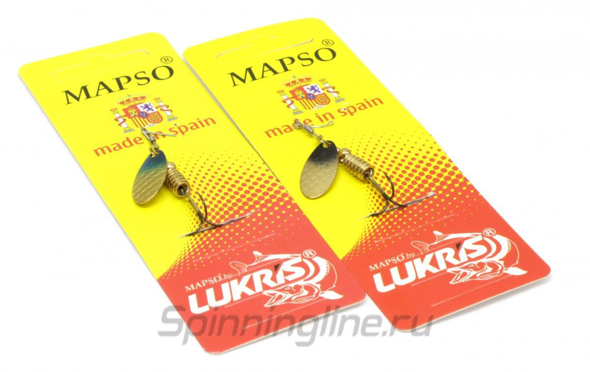 Блесна Lukris Mini 2 o - Данное фото демонстрирует вид упаковки, а не товара. Товар на фото может отличаться по цвету, комплектации и т.д. Дизайн упаковки может быть изменен производителем 1