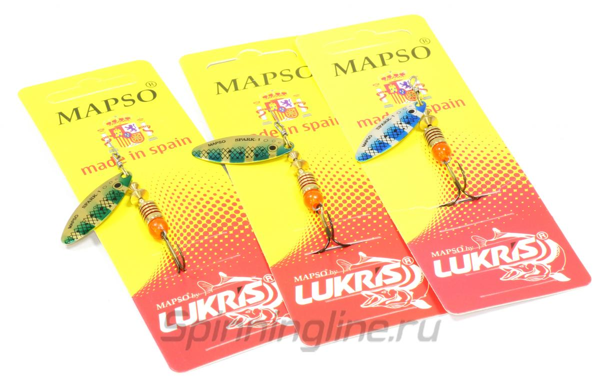 Блесна Spark Trucha 3 pv - фотография упаковки 1