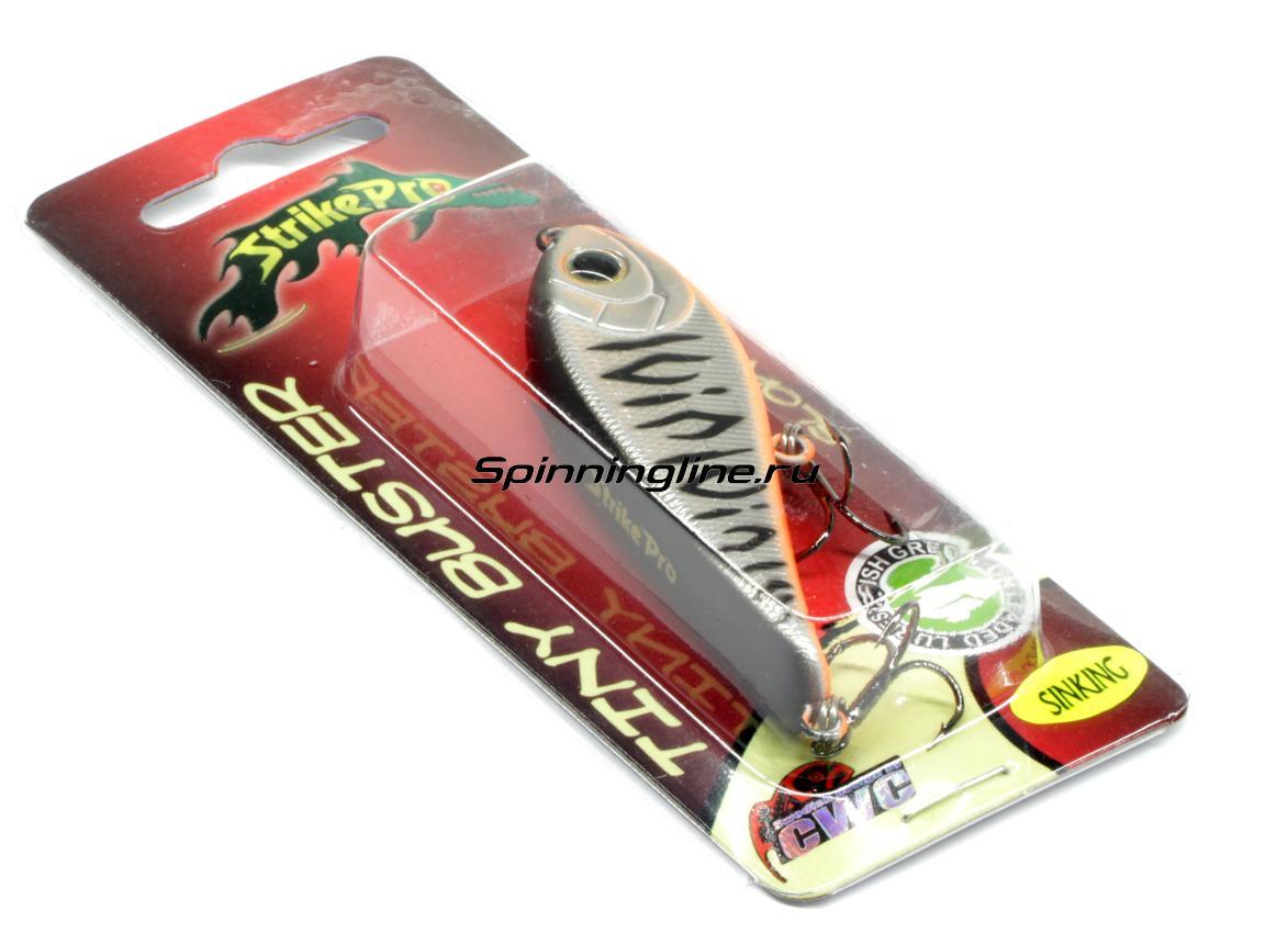 Воблер Strike Pro Tiny Buster EG-149 A139 - Данное фото демонстрирует вид упаковки, а не товара. Товар на фото может отличаться по цвету, комплектации и т.д. Дизайн упаковки может быть изменен производителем 1