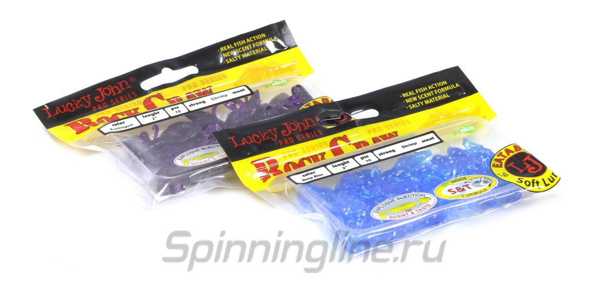 Приманка Lucky John Rock Craw 51/087 - Данное фото демонстрирует вид упаковки, а не товара. Товар на фото может отличаться по цвету, комплектации и т.д. Дизайн упаковки может быть изменен производителем 1