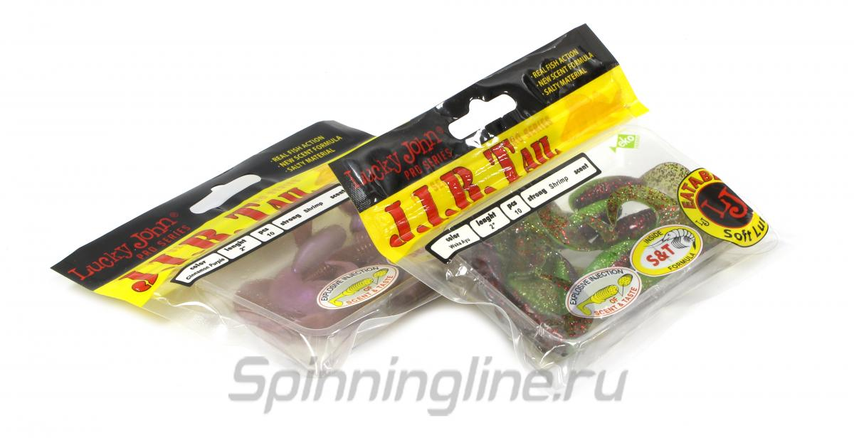 Приманка Lucky John J.I.B Tail 51/T43 - Данное фото демонстрирует вид упаковки, а не товара. Товар на фото может отличаться по цвету, комплектации и т.д. Дизайн упаковки может быть изменен производителем 1