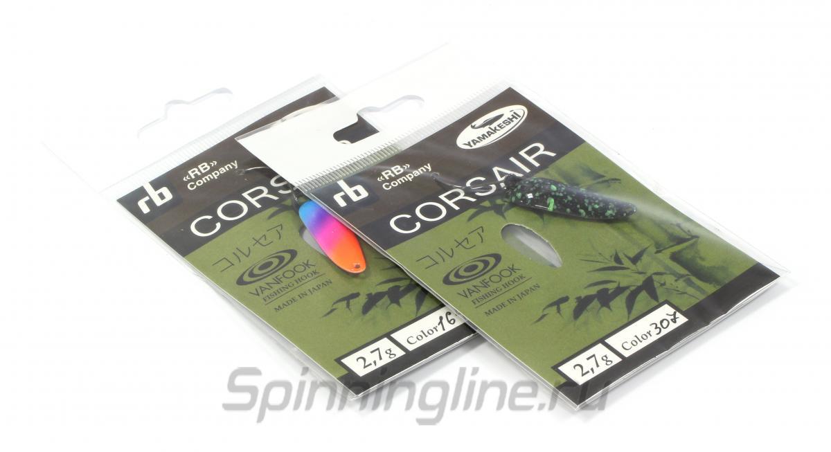 Блесна Corsair 2,7гр 45Ф - фотография упаковки 1