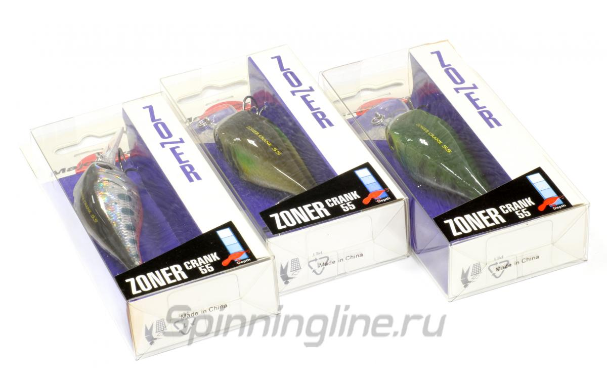 Воблер Zoner Crank 40S 04 Blue Gill - фотография упаковки 1