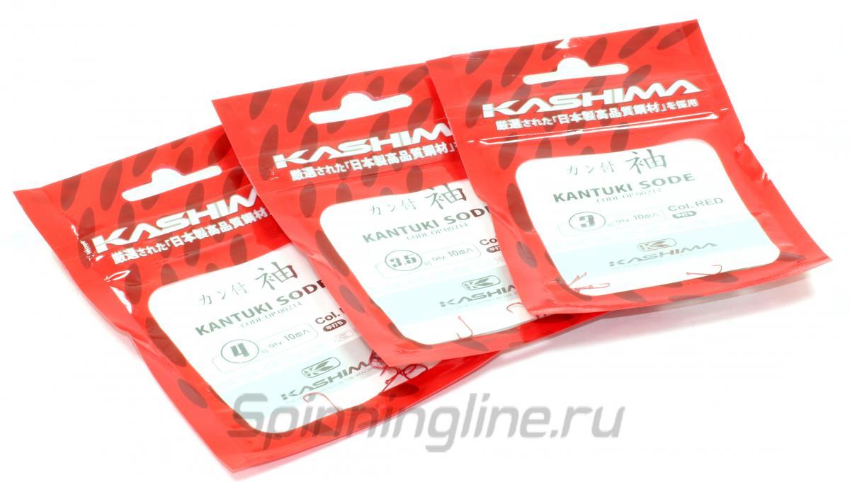 Kashima - Kantsuki Sode №3 red - фотография упаковки