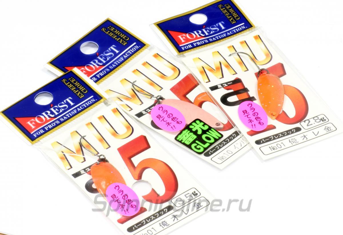 Блесна Miu 2,8гр 2 - фотография упаковки 1