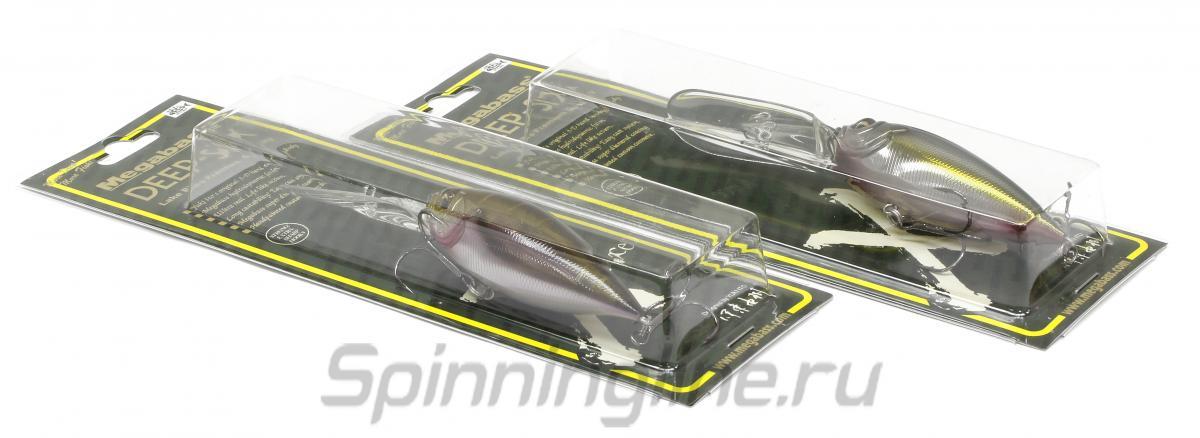 Воблер Deep-Six crack lime chart - фотография упаковки 1