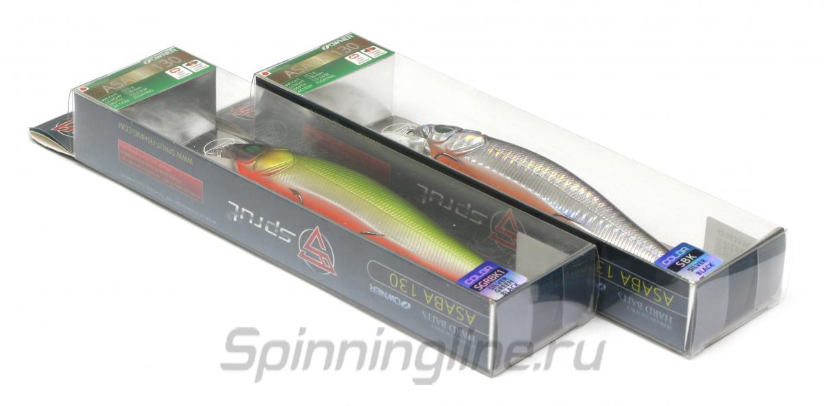 Воблер Sprut Asaba 98F CRLPN - Данное фото демонстрирует вид упаковки, а не товара. Товар на фото может отличаться по цвету, комплектации и т.д. Дизайн упаковки может быть изменен производителем 1