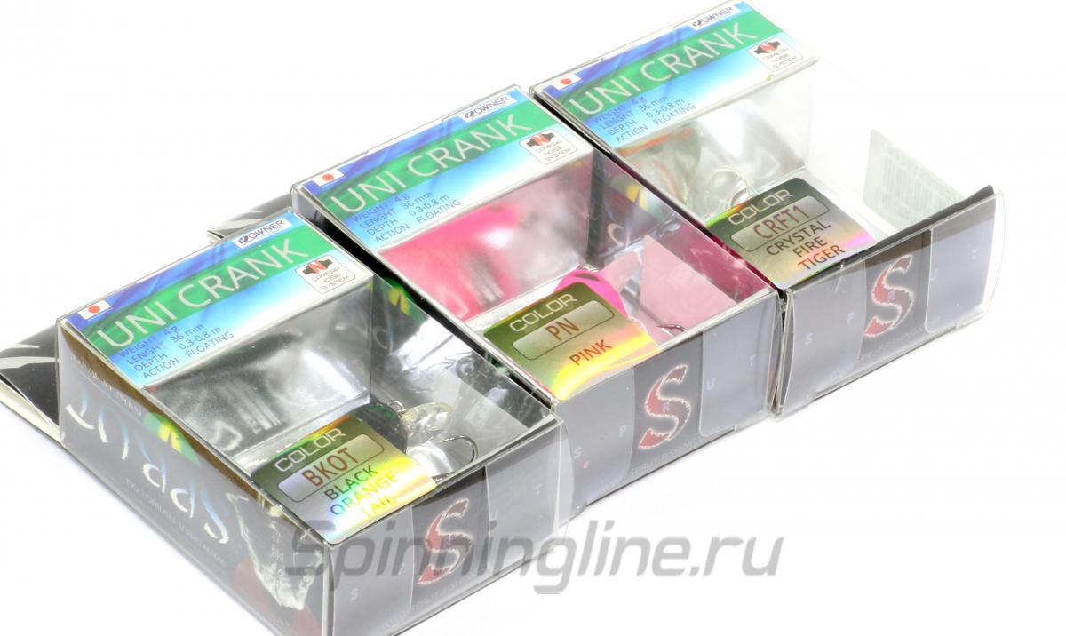 Воблер Uni Crank 36F SB - фотография упаковки 1