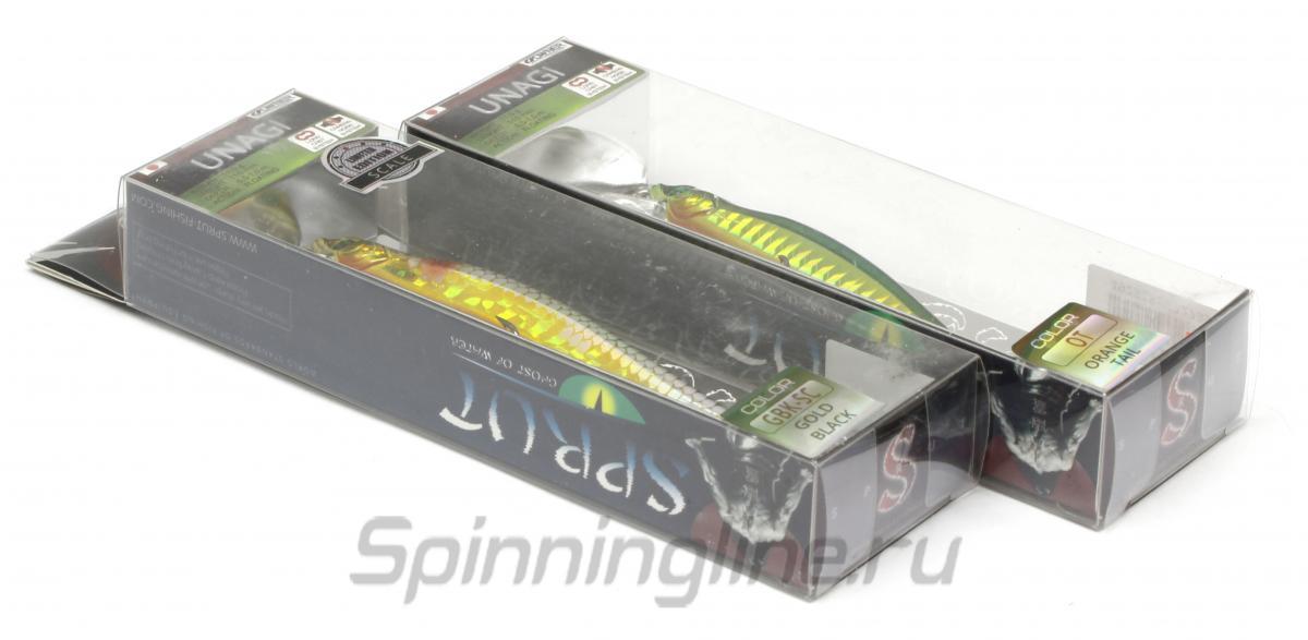 Воблер Sprut Unagi 110F HT - Данное фото демонстрирует вид упаковки, а не товара. Товар на фото может отличаться по цвету, комплектации и т.д. Дизайн упаковки может быть изменен производителем 1