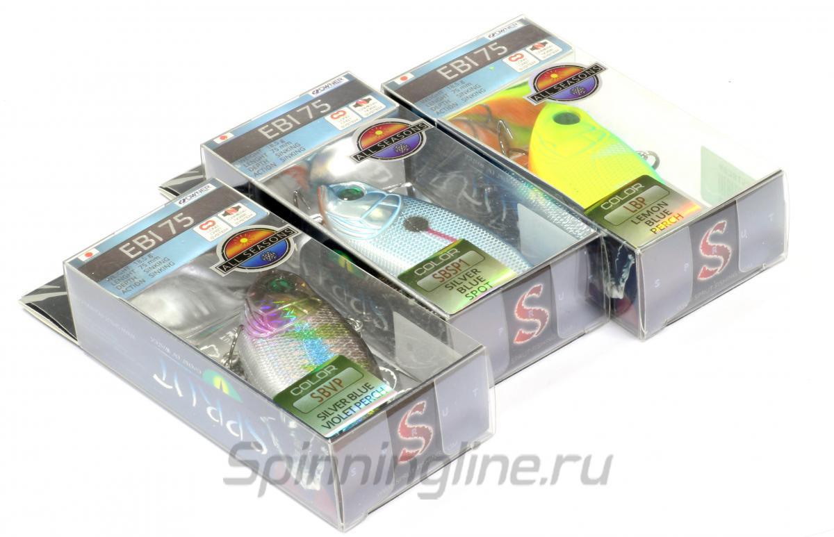 Воблер Ebi 75S SBK - фотография упаковки 1