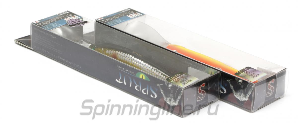 Воблер Sprut Taiho D 120F SB-EP - Данное фото демонстрирует вид упаковки, а не товара. Товар на фото может отличаться по цвету, комплектации и т.д. Дизайн упаковки может быть изменен производителем 1