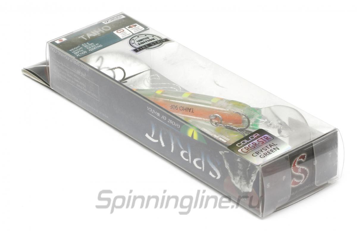 Воблер Sprut Taiho 90F WL - Данное фото демонстрирует вид упаковки, а не товара. Товар на фото может отличаться по цвету, комплектации и т.д. Дизайн упаковки может быть изменен производителем 1