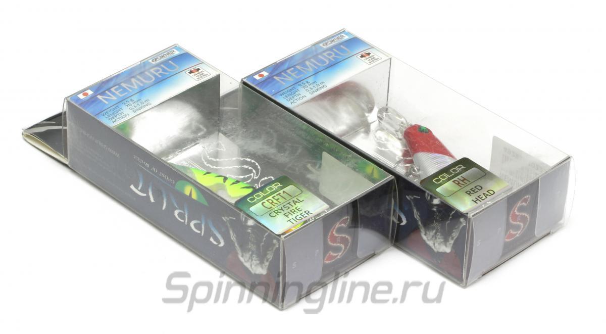 Воблер Sprut Nemuru 70S SBGP - Данное фото демонстрирует вид упаковки, а не товара. Товар на фото может отличаться по цвету, комплектации и т.д. Дизайн упаковки может быть изменен производителем 1