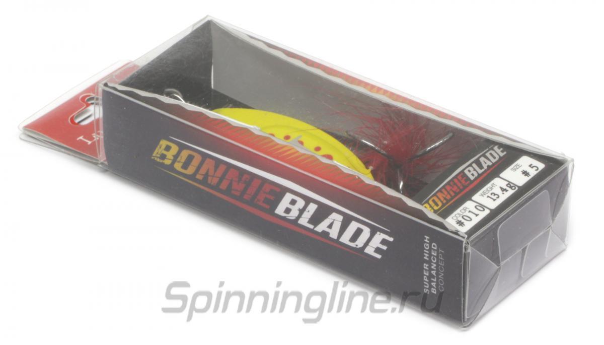 Блесна Lucky John Bonnie Blade 13,4гр 7 - Данное фото демонстрирует вид упаковки, а не товара. Товар на фото может отличаться по цвету, комплектации и т.д. Дизайн упаковки может быть изменен производителем 1