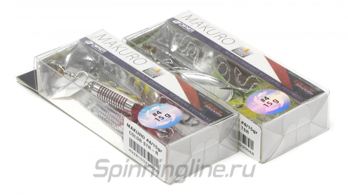 Блесна Sprut Makuro Spinner 2 GTR - Данное фото демонстрирует вид упаковки, а не товара. Товар на фото может отличаться по цвету, комплектации и т.д. Дизайн упаковки может быть изменен производителем 1