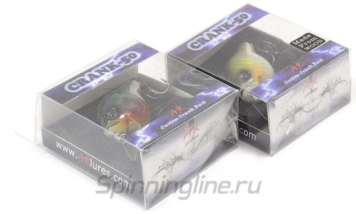 Воблер Crank 50 Brown Rainbow - фотография упаковки 1