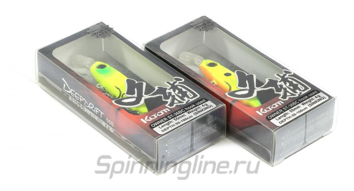 Воблер Deep Drift 55S F004 - фотография упаковки 1