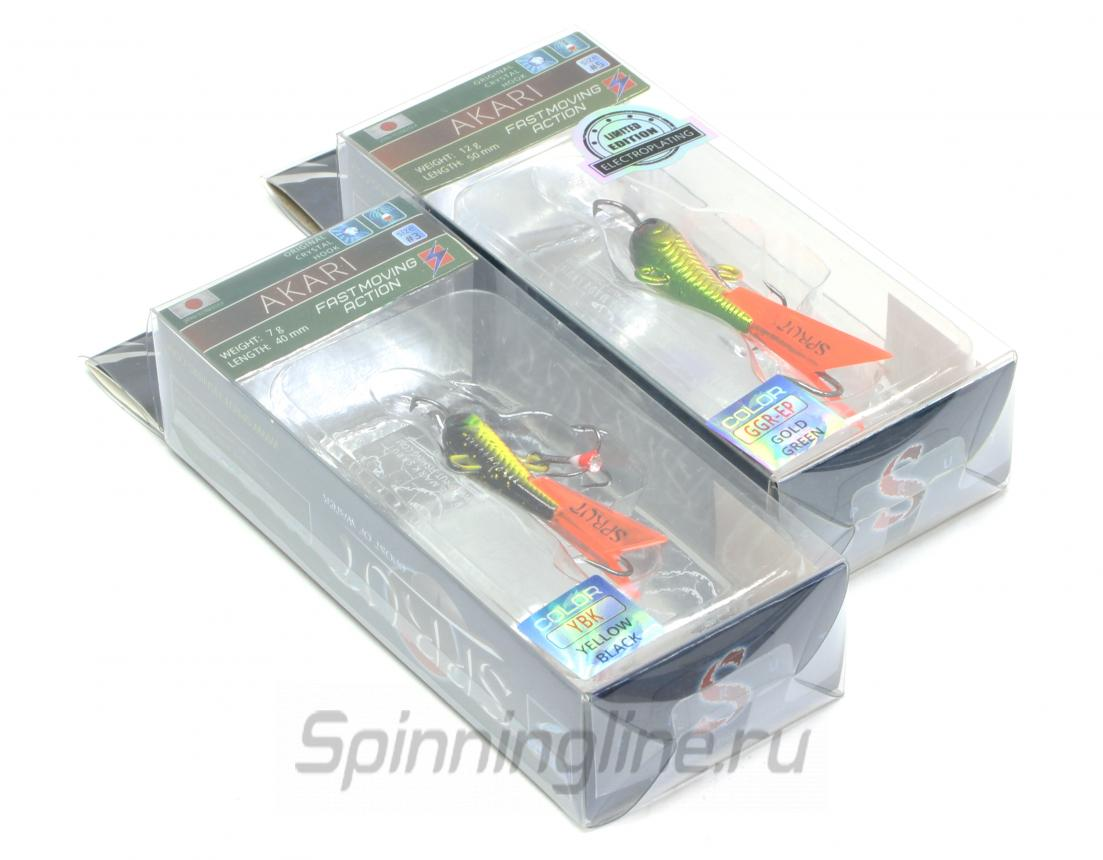 Балансир Sprut Akari 50 CLN-EP - Данное фото демонстрирует вид упаковки, а не товара. Товар на фото может отличаться по цвету, комплектации и т.д. Дизайн упаковки может быть изменен производителем 1