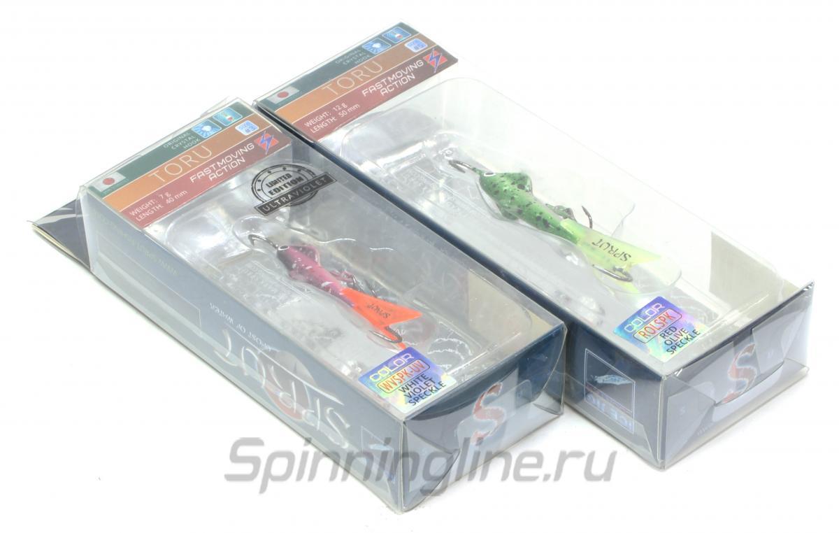 Балансир Sprut Toru 40 RL - Данное фото демонстрирует вид упаковки, а не товара. Товар на фото может отличаться по цвету, комплектации и т.д. Дизайн упаковки может быть изменен производителем 1