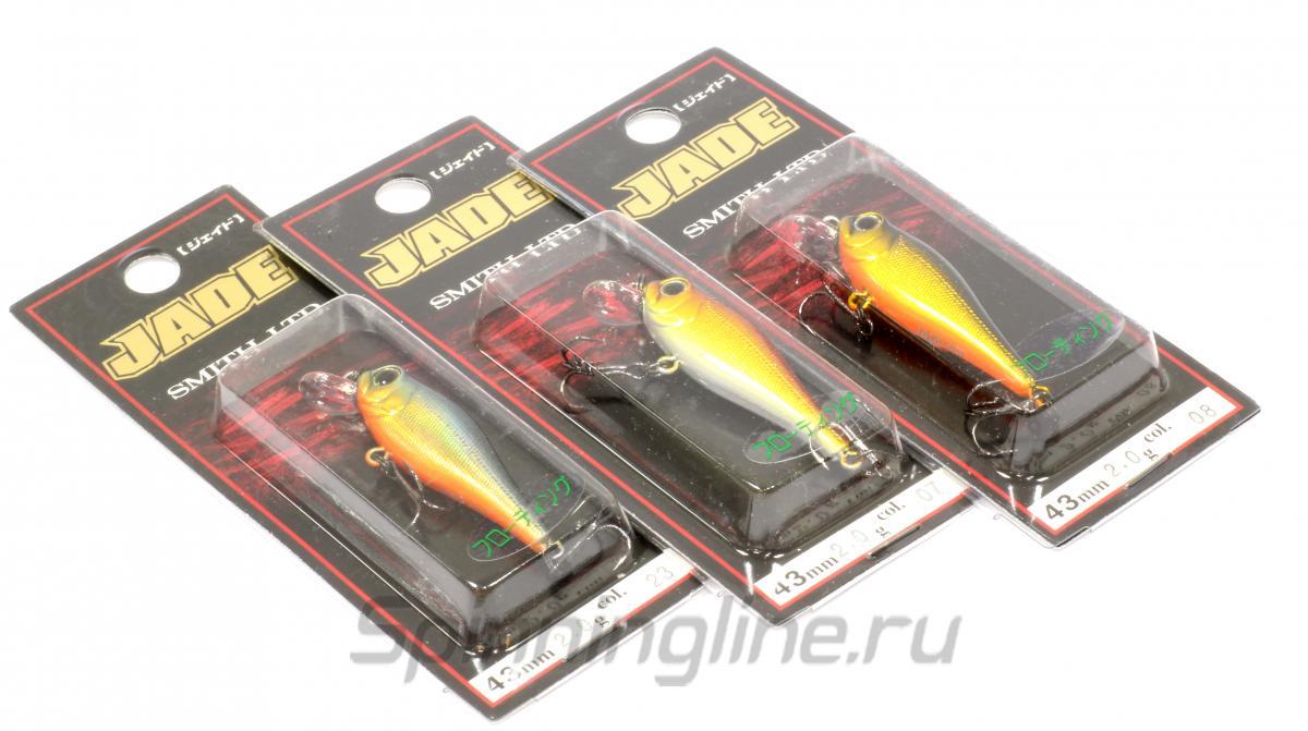 Воблер Jade 43 MD F 08 - фотография упаковки 1