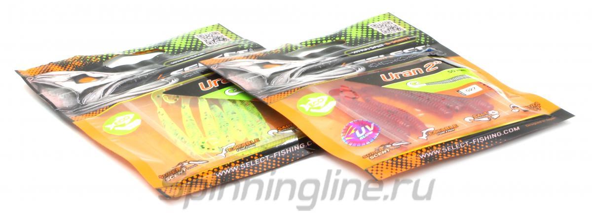 """Приманка Select Uran 2.8"""" 999 - Данное фото демонстрирует вид упаковки, а не товара. Товар на фото может отличаться по цвету, комплектации и т.д. Дизайн упаковки может быть изменен производителем 1"""