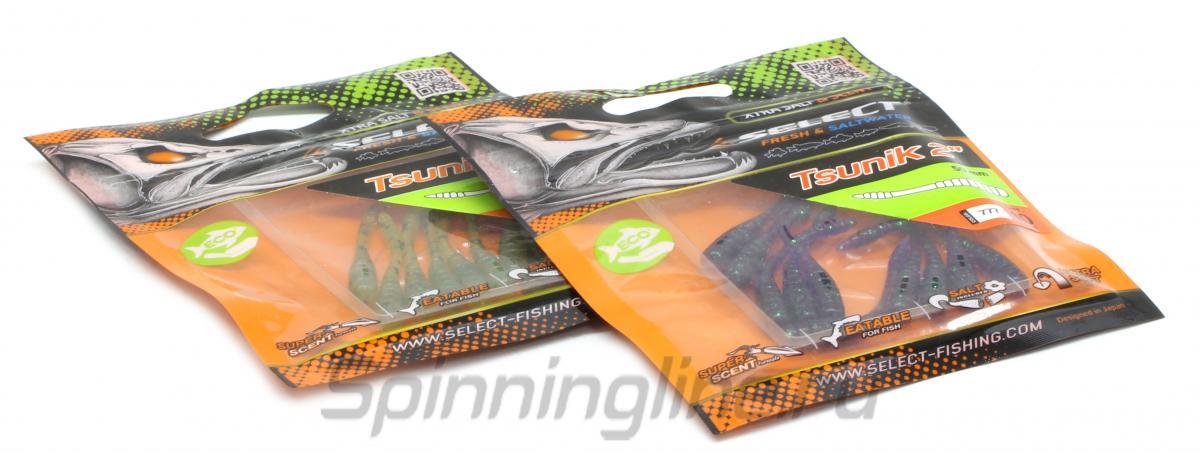 """Приманка Select Tsunik 2"""" 003 - Данное фото демонстрирует вид упаковки, а не товара. Товар на фото может отличаться по цвету, комплектации и т.д. Дизайн упаковки может быть изменен производителем 1"""
