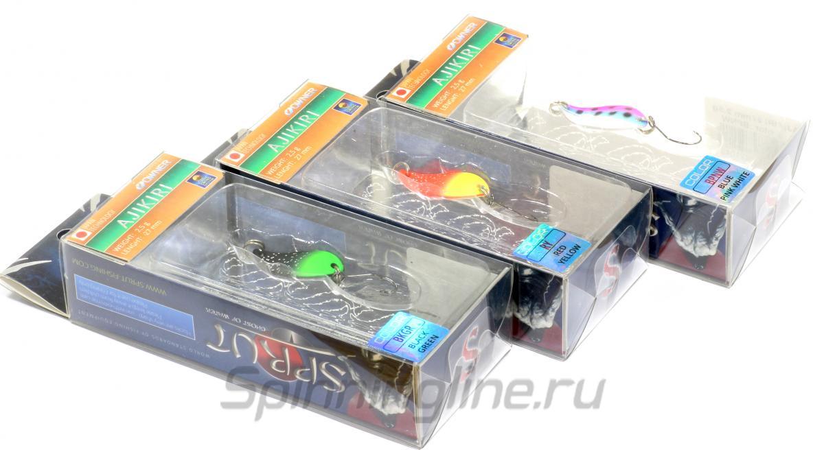 Блесна Ajikiri Spoon 27 FTL - фотография упаковки 1