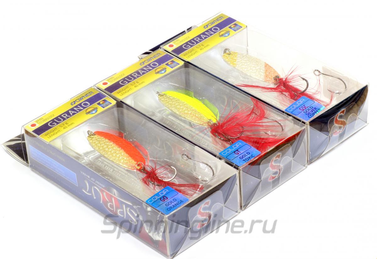 Блесна Gurano Spoon 40 GO - фотография упаковки 1