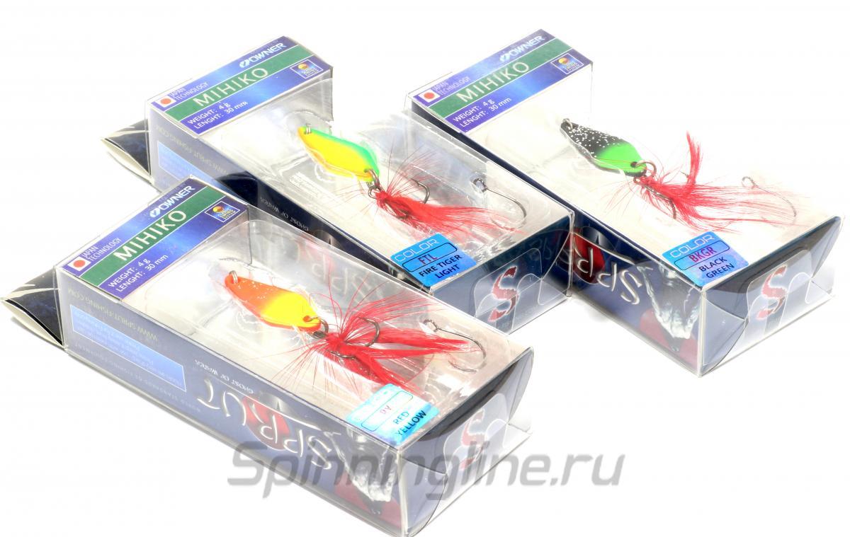 Блесна Mihiko Spoon 30 BPNW - фотография упаковки 1