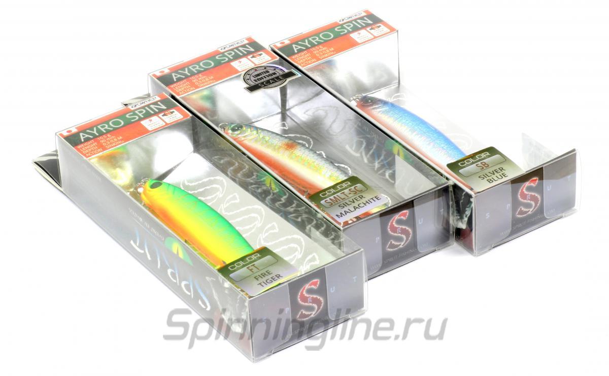 Воблер Ayro Spin 90S PK - фотография упаковки 1
