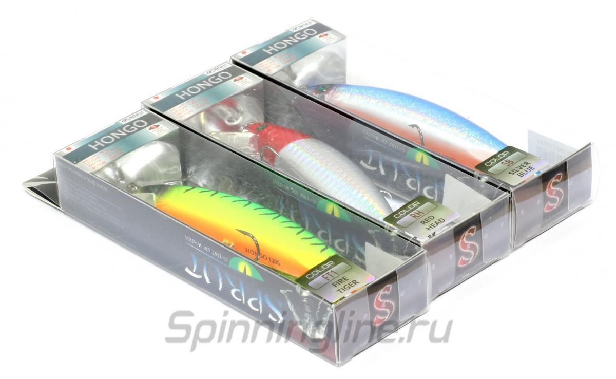 Воблер Hongo 120S FT1 - фотография упаковки 1
