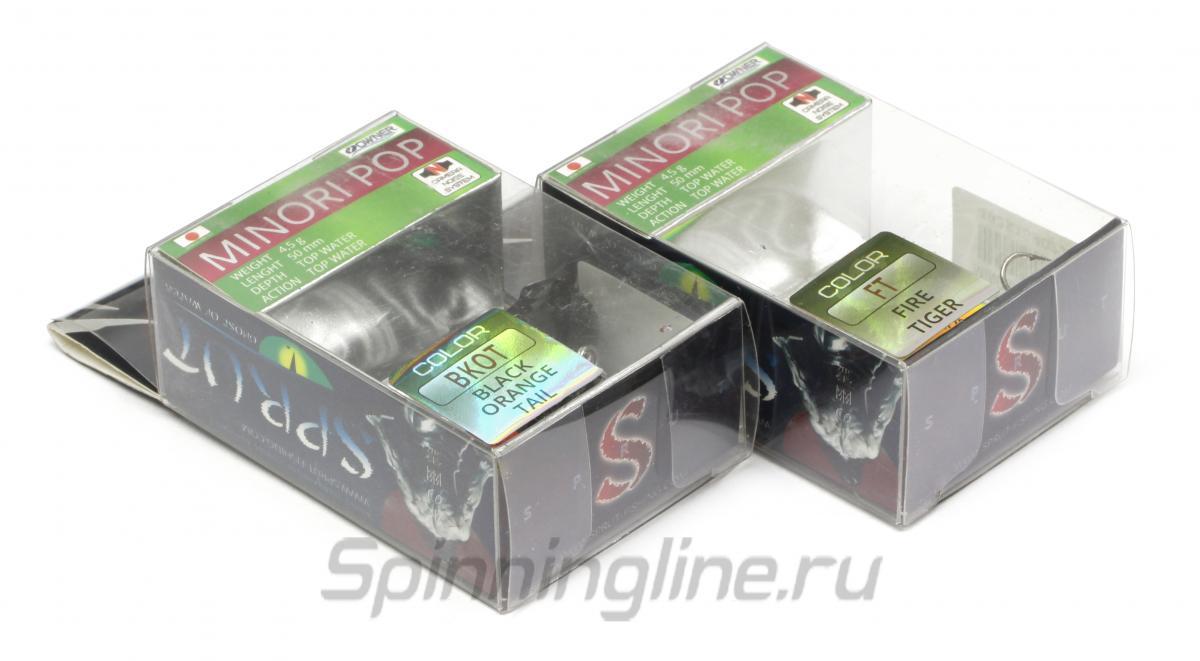 Воблер Minori Pop 50TW FT - фотография упаковки 1