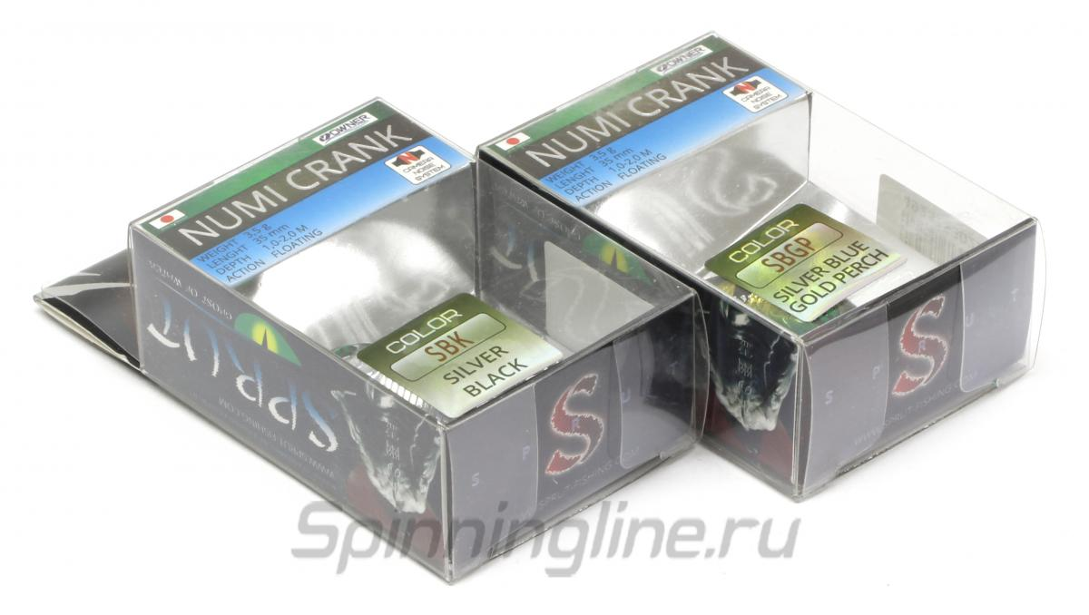 Воблер Numi Crank 35F SBK - фотография упаковки 1